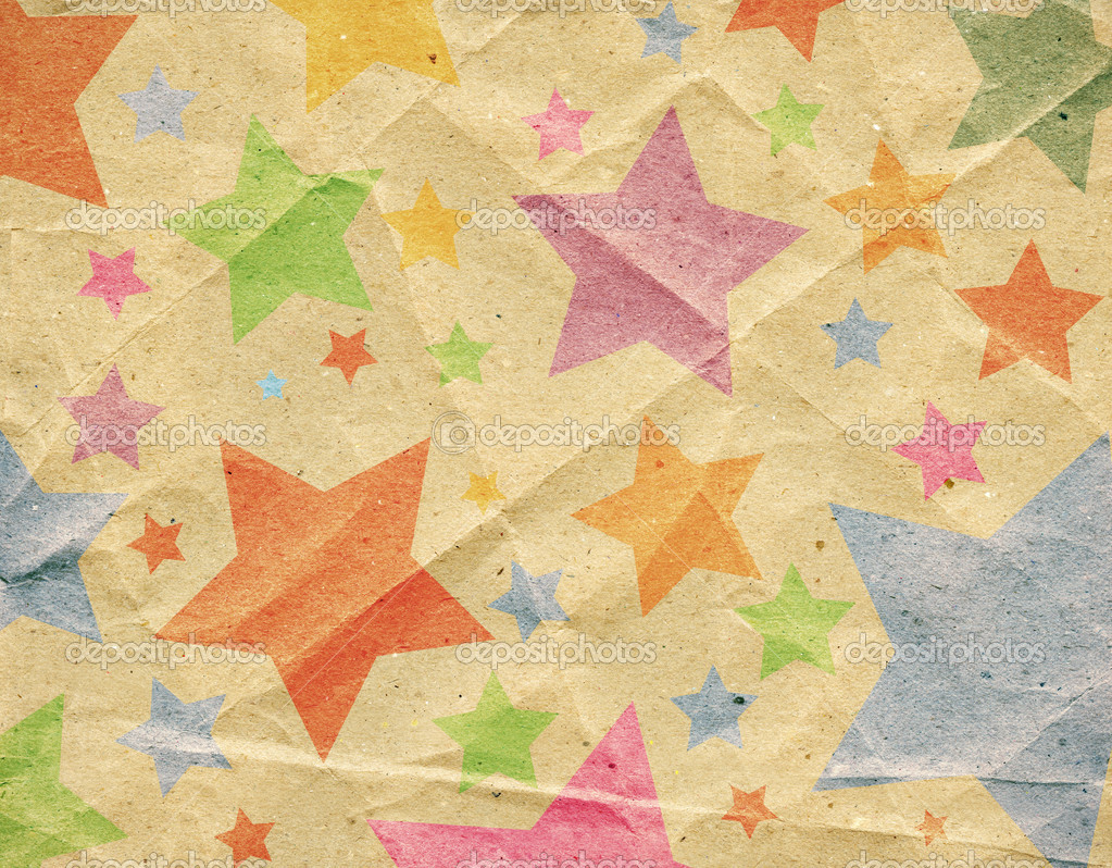 Designed retro paper background, texture — Stock Photo #6571760
