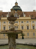Fountain at Melk — Stock Photo