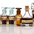 Various mother tinctures of homeopathic medicine — Stock Photo #6349867