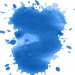 Blue blot — Stock Photo #5542657