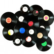 Royalty-Free Stock Photo: Vintage vinyl records