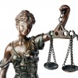 Themis, goddess of justice — Foto Stock #6541120
