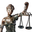 Themis, the goddess of justice — Stock Photo