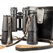 Old antic binoculars — Stock Photo