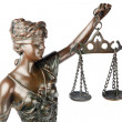 Stock Photo: Themis, mythologic greek goddess, symbol of justice