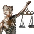 Themis, mythologic greek goddess, symbol of justice - Stock Photo