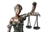 Themis, a deusa da justiça — Foto Stock