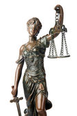 Symbol of justice — Stock Photo
