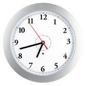Simple modern wall clock — Stock Photo
