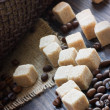 Sugar cubes — Stock Photo