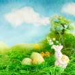 Easter scene — Stock Photo
