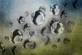 Astratto di gocce d'acqua — Foto Stock