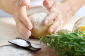 Dough preparation — Stock Photo