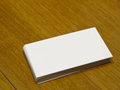Blank Business Card — Stock Photo