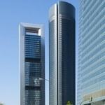 Cuatro Torres Business Area in Madrid — Stock Photo #5999557