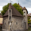 Palais de l'Isle Jail, Annecy, France - Stock Photo