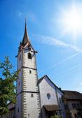 St. George's Abbey, Stein am Rhein — Stock Photo