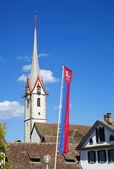 St. George's Abbey in Stein am Rhein, Switzerland — Stock Photo