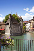 The medieval village of Annecy, France — Stock Photo