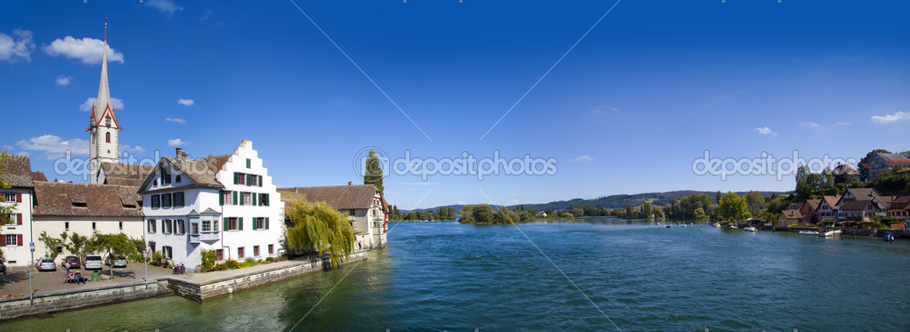 St. George's Abbey in Stein am Rhein, Switzerland — Stock Photo #6639367