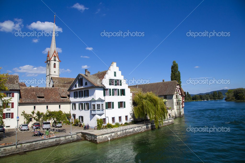 St. George's Abbey in Stein am Rhein, Switzerland — Stock Photo #6639370