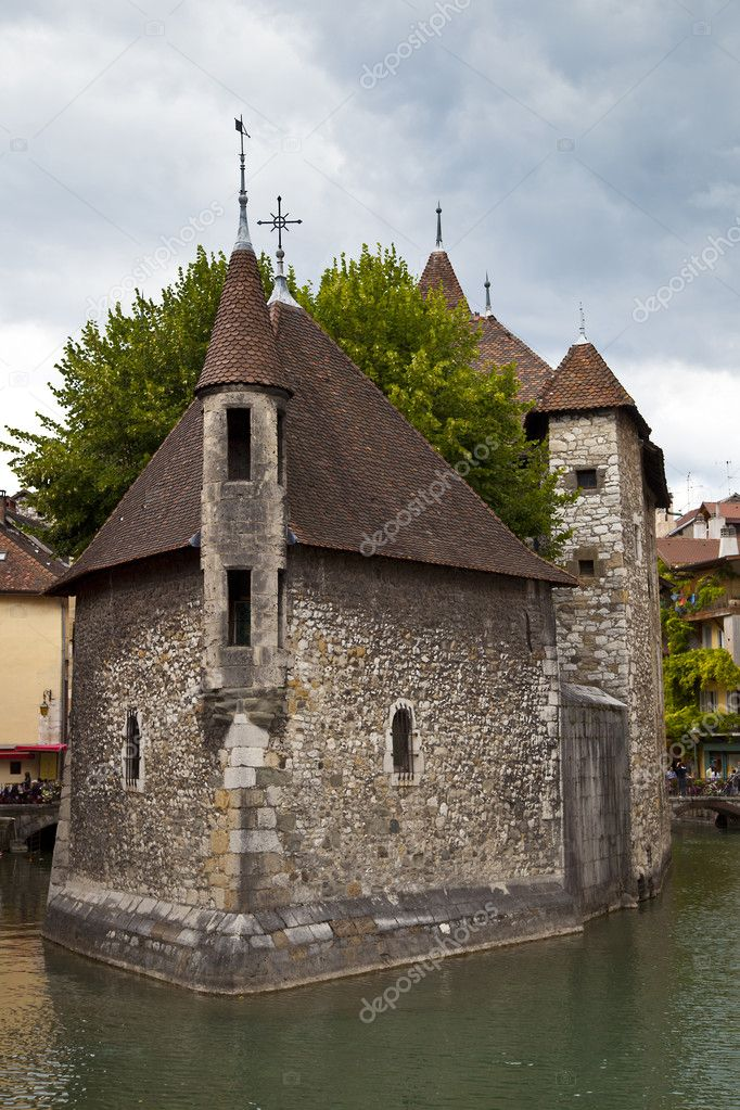 Palais de l'Isle Jail, Annecy, France — Stock Photo #6639409