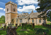 在科茨沃尔德、 chastleton、 英国圣马利亚教堂 — 图库照片