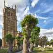 St James church in Chipping Campden, Cotswolds, UK — Stock Photo