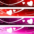 Royalty-Free Stock Vector Image: Valentine\'s day Love Banners
