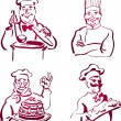Chef Collection - Stock Vector