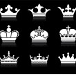 Crown design collection - Image vectorielle