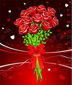 Romantic Valentine's Day design background — Stock vektor