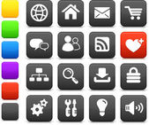 Internet design icon set — 图库矢量图片