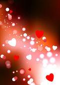 Romantic Valentine's Day design background — Stock Vector