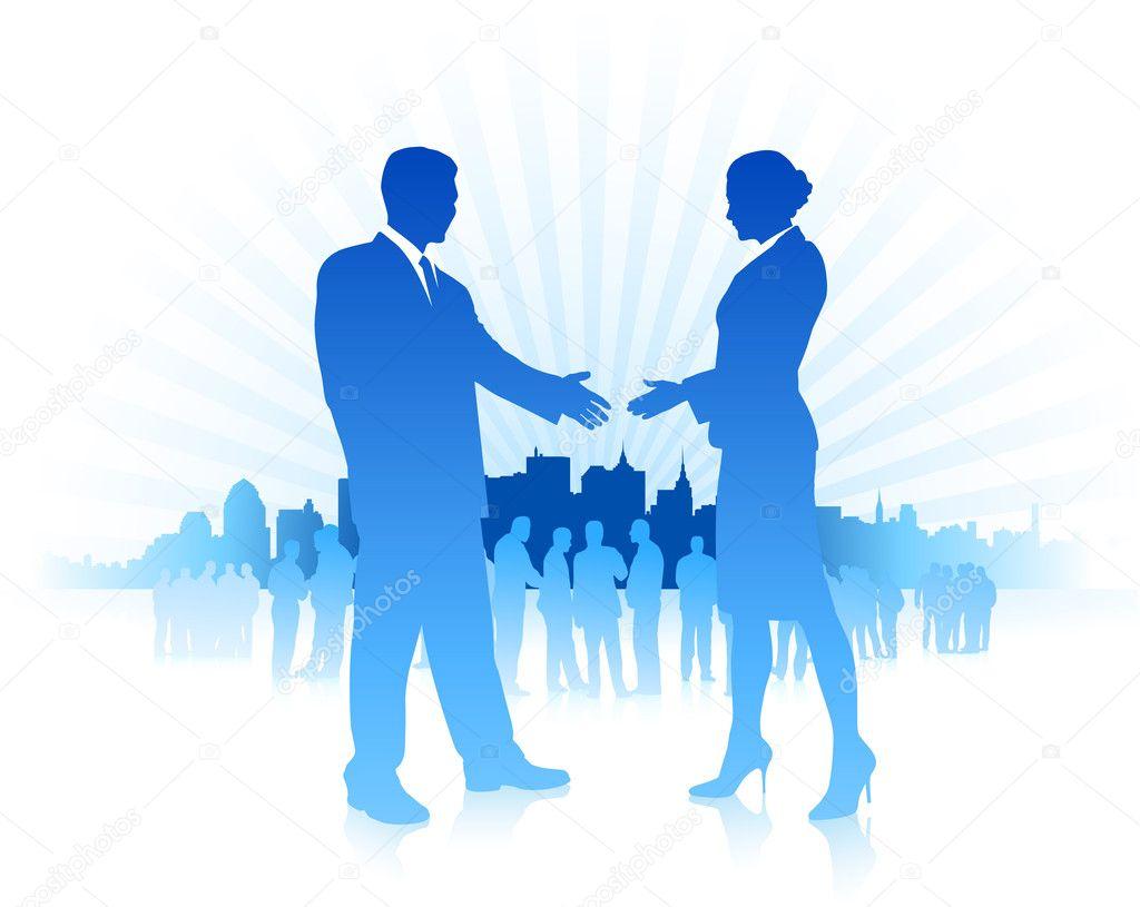 Rencontre femmes d'affaires