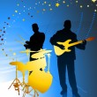 Live Music Band - Stock Vector