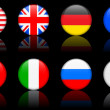 Royalty-Free Stock Vector Image: World flag series  World flag series G8 countries