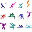 Sports icon collection — Stock Vector #6031335