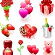 Royalty-Free Stock Imagen vectorial: Valentine\'s Day Gifts