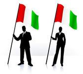 olasz caprese saláta — Stockvektor