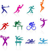 Sports icon collection — Stock Vector