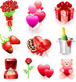 Valentine's Day Gifts — Stock Vector