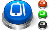 Organizer on Internet Button — Stock Vector