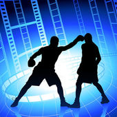 Boxer championship — Stock Vector