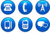 Internet simge butonlar — Stok Vektör