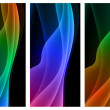 Abstract Wave Background Collection - Stock Vector