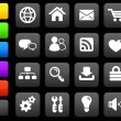 Stock Vector: Internet design icon set