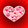 Valentine's Day Love Background — Stock vektor #6507339