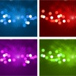 Defocused lights design background - Stockvectorbeeld