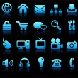 New Age Technology Icons Collection — Vetor de Stock  #6509233